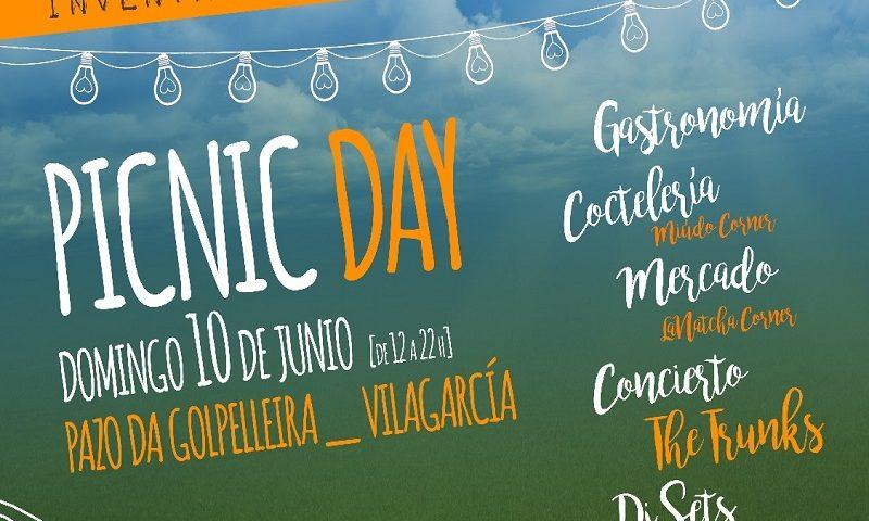 Evento gastronomico en Pazo da Golpelleira picnic day
